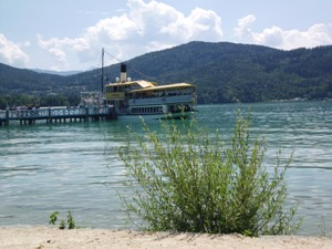 cruising ships on Wörthersee